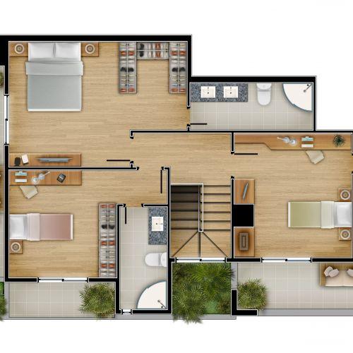 Penthouse 804 RGS e MP - Superior